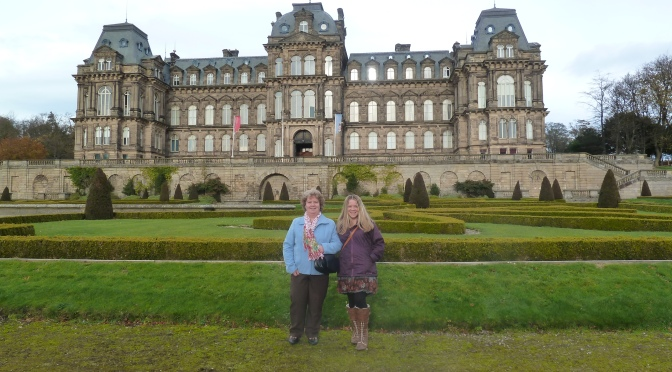 Visiting Family and the Bowes Museum.
