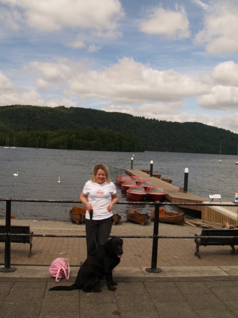 Windermere is the largest lake at 11 miles long.There are several islands in the lake. Jake got chased by some grumpy swans!