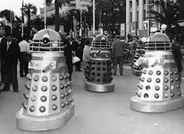 In the sixties even the daleks posed at the festival.