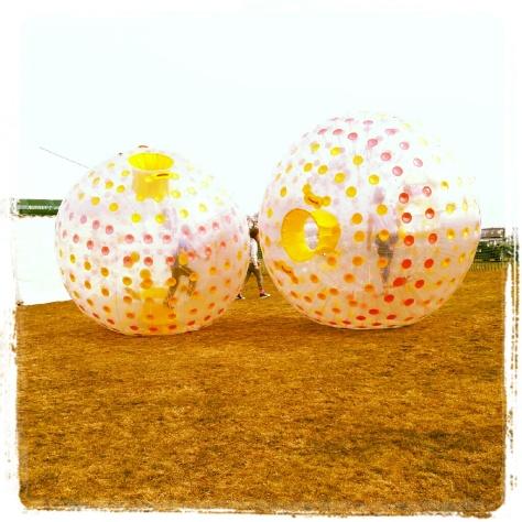 Human Hamster Balls!
