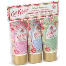 Set of 3 wild flower shower gels £6.