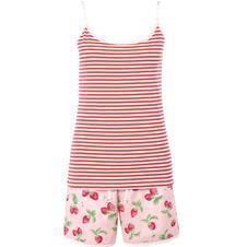 Strawberry shorts & Camisole set £32.