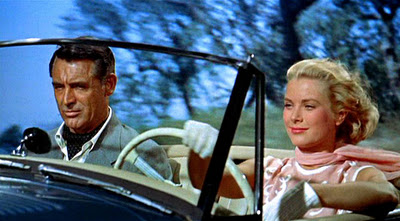 Cary Grant and Grace Kelly in Alfred Hitchcocks To Catch a Thief which was filmed along the French Riviera and Monaco.