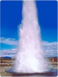 A magnificent Geyser.