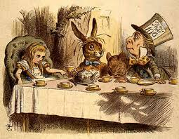 Mad Hatter's Tea Party please…..