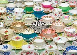 Even when I'm a multi -millionaire I suspect I will keep on looking for teacups.:)