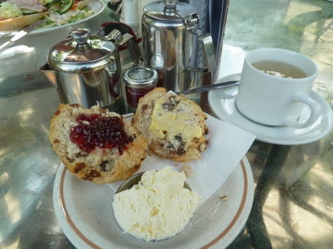 Cream Tea in Pooley bridge.