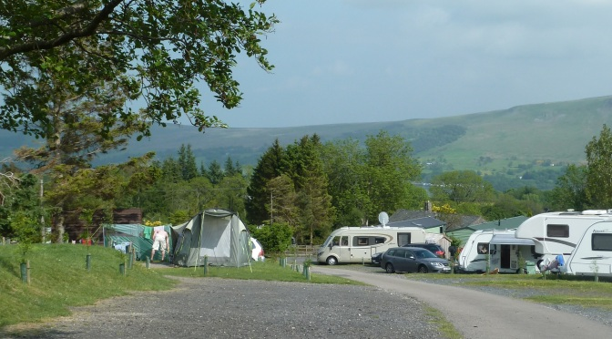 Camping Ullswater ~ The Quiet Site.( sshhhh!)