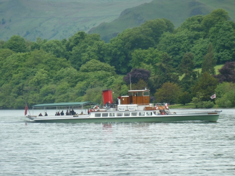Steamer on the lake.