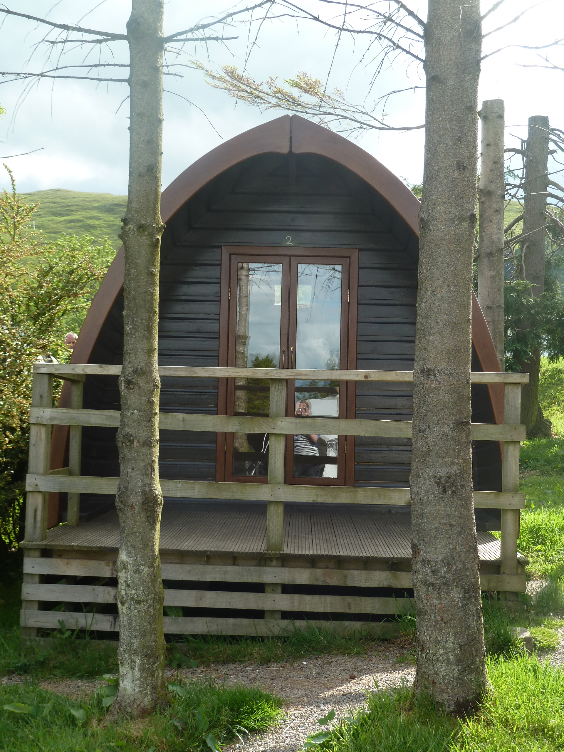 Why not  'Glamp' in a Pod !