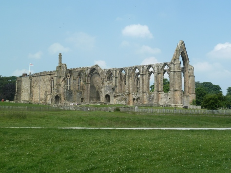 The Priory ruins.