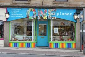 The One Planet Shop.