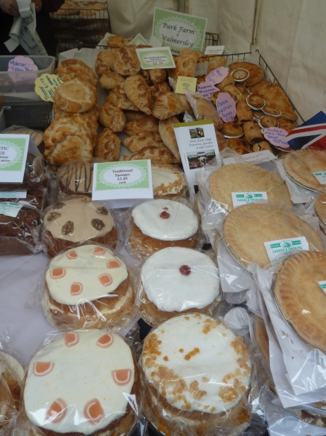 Park Farm pies and cakes.