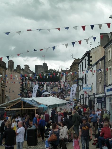 Clitheroe Food Festival.