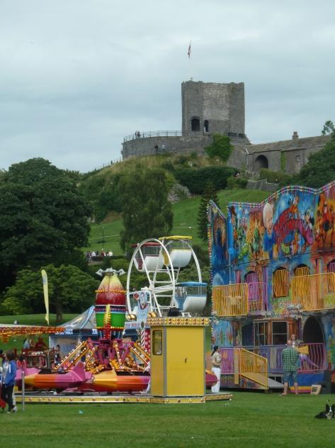 Clitheroe Castle.