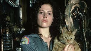 Jones or Jonesie the Ginger Tom  is the only company Sigourney weaver's Ripley has left when the Alien slaughters the crew. He provides almost as many scary jump out of your seat moments as the Alien.