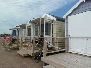 Beach Huts :)