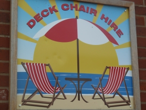 Deck Chairs.