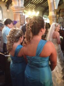 The back detail of our beautiful dresses.