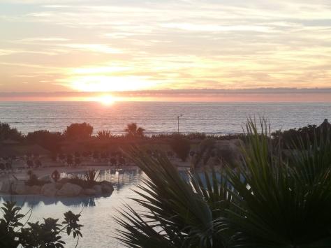 Sunset at Agadir.