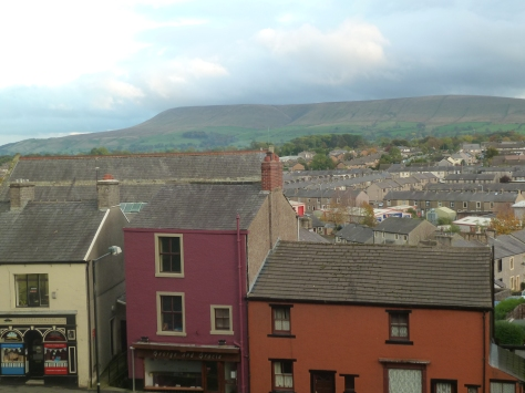 Pendle Hill in the distance.