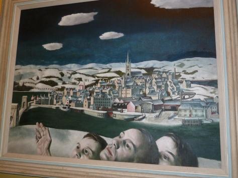 Art in the Kelvingrove.