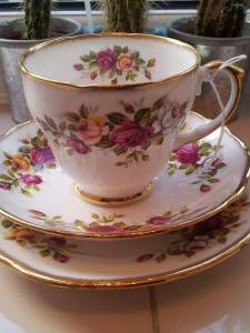 Darling Teacup I found today at Skipton Antiques and collectables centre.