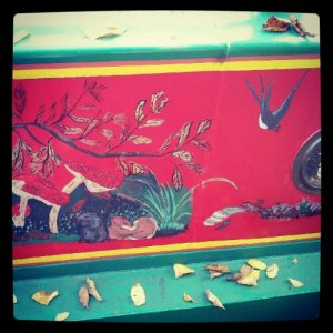 Beautiful Barge Art.