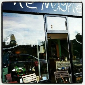 A new vintage shop The Magpie that has opened. Lots of lovely things inside.