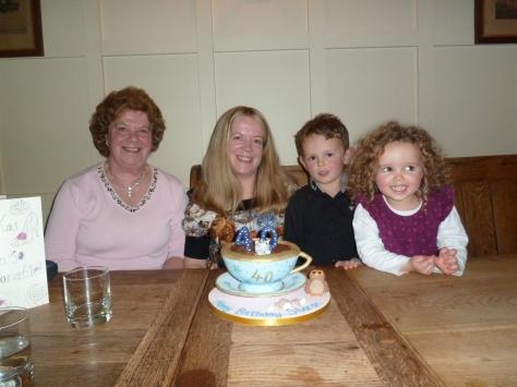 Loving my cake!