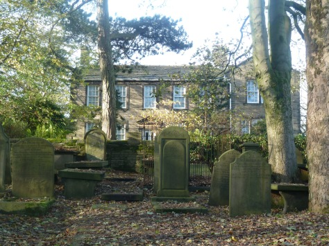 The Parsonage in Haworth was the home of the Bronte's.