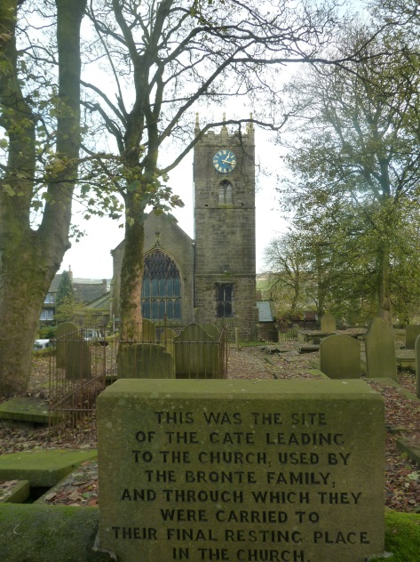 The Church in Haworth.