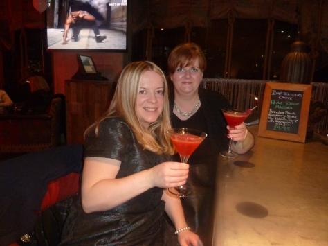 Cocktails at the Malmaison.