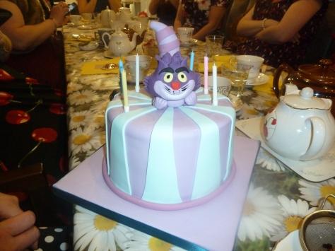 My Cheshire Cat Cake. :)