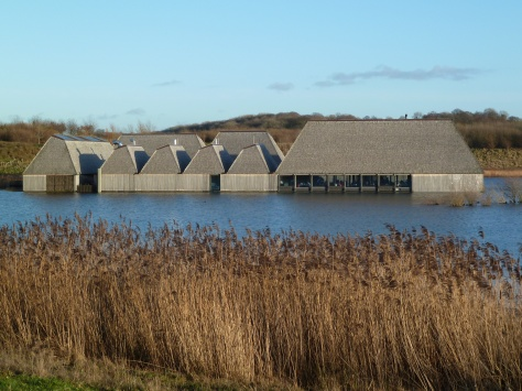 Another view of the floating visitor centre.