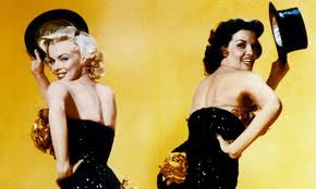Chick Flick Classics ~~ Gentlemen Prefer Blondes.