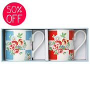 """ Daisy tea mugs for that lovely cuppa  £5 ( reduced from £10~ hurrah!)"