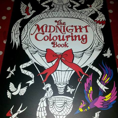 The Midnight Colouring Book.