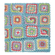 Have your picnic tea spread out over this crochet blanket £75....or get crafty and make your own!