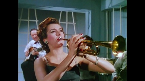 A tipsy rosalind  is a champion trumpeter.