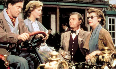 John Gregson, Dinah Sheridan, Kenneth More and Kay Kendall in Genevieve