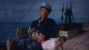 Of their honeymoon aboard the 'True Love' yacht.