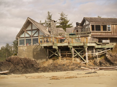 Love this old hotel on Wickenninish Beach near Tofino.