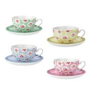 provence set of four teacups £30.