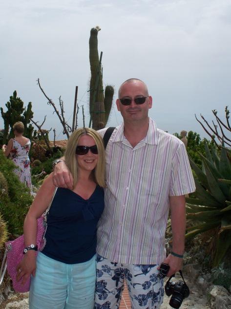 Tropical gardens, Eze, South of France.