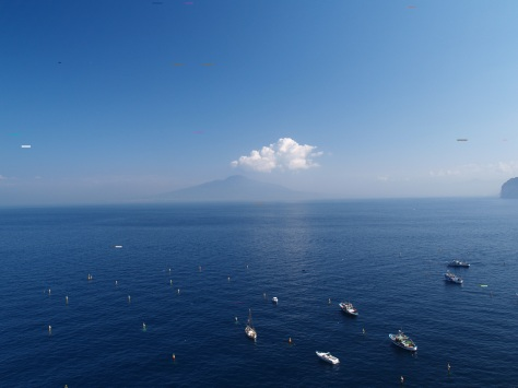 Blue sea, Blue sky ~ Sorrento, Italy