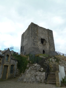 Clitheroe Castle.  One of the smallest Castles in the country.