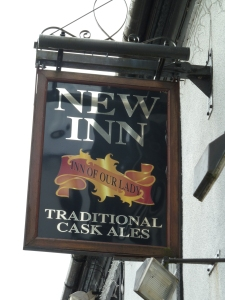 New Inn Sign.