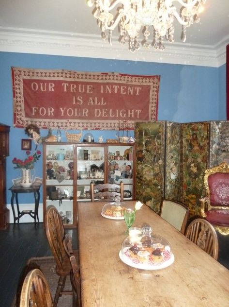 Mad Hatters Tea Rooms, La Rosa Hotel, Whitby.
