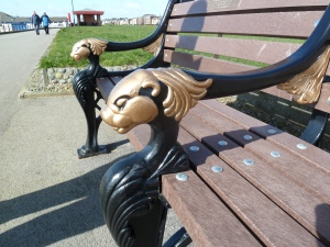 Bench on the prom.